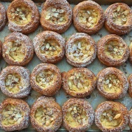 Bakery Platters - Almond Pear Danish