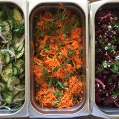 Cucumber, Carrot, Beet